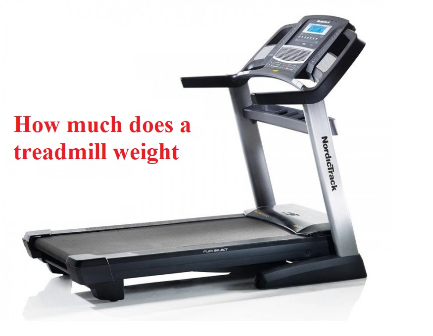 how much does a treadmill weight